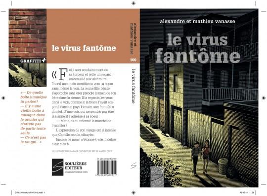 Le virus fantôme, roman d'Alexandre et Mathieu Vanasse